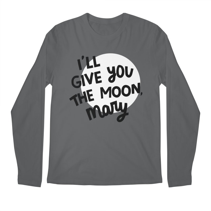 I'll give you the moon, Mary Men's Longsleeve T-Shirt by Kate Gabrielle's Threadless Shop