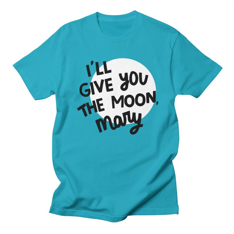 I'll give you the moon, Mary Men's Regular T-Shirt by Kate Gabrielle's Threadless Shop