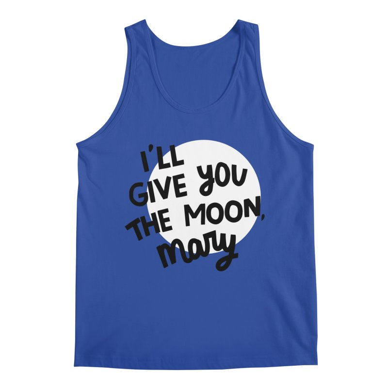 I'll give you the moon, Mary Men's Regular Tank by Kate Gabrielle's Threadless Shop