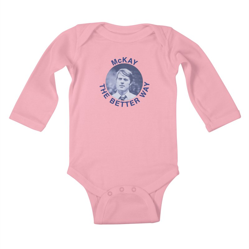 The Candidate Kids Baby Longsleeve Bodysuit by Kate Gabrielle's Threadless Shop