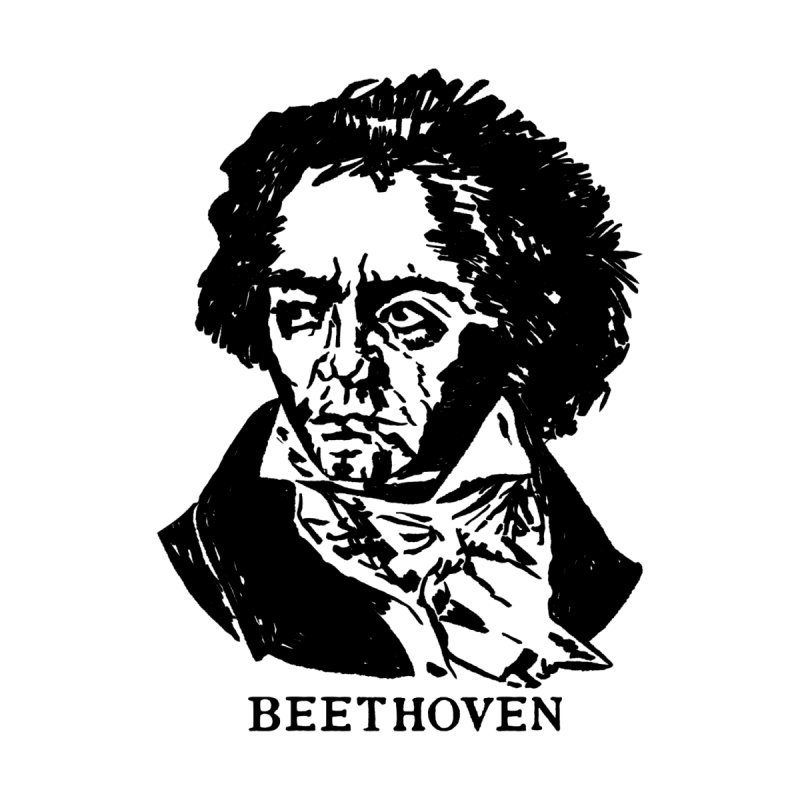 Beethoven Women's Tank by Kate Gabrielle's Threadless Shop