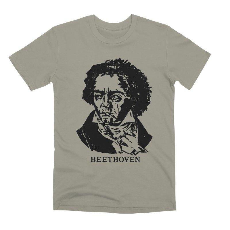 Beethoven Men's Premium T-Shirt by Kate Gabrielle's Threadless Shop