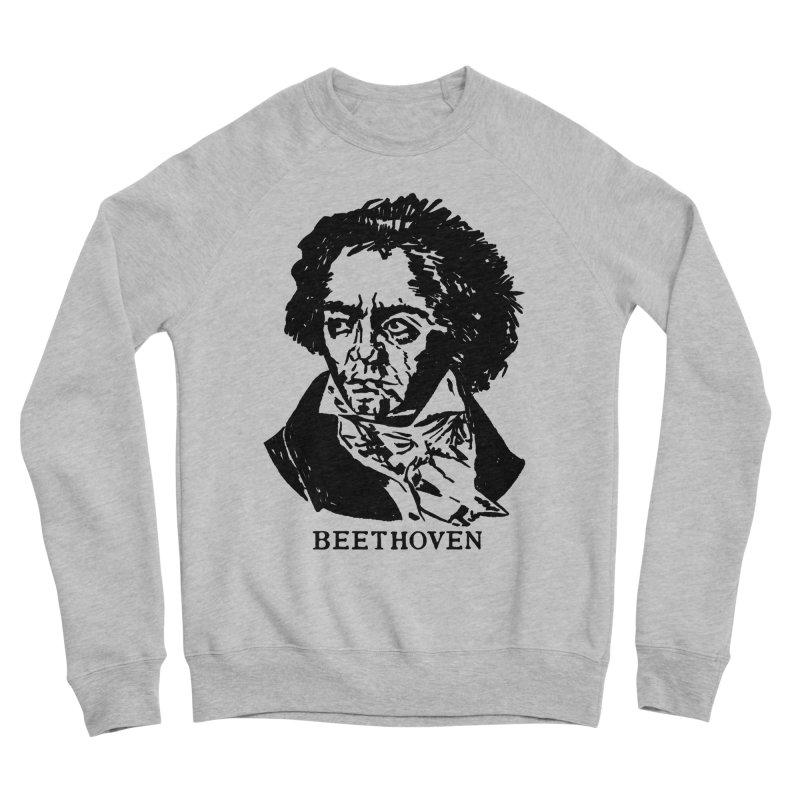 Beethoven Women's Sponge Fleece Sweatshirt by Kate Gabrielle's Threadless Shop