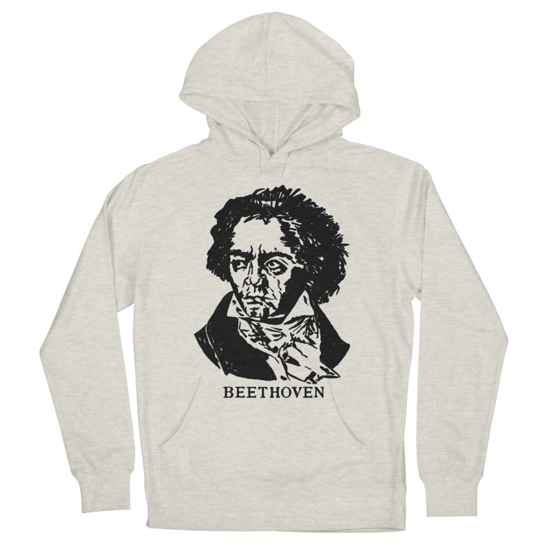 Beethoven Men's French Terry Pullover Hoody by Kate Gabrielle's Threadless Shop