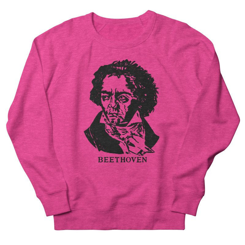 Beethoven Women's French Terry Sweatshirt by Kate Gabrielle's Threadless Shop