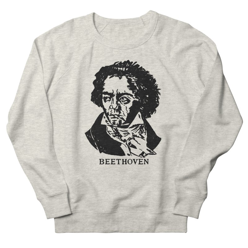 Beethoven Men's French Terry Sweatshirt by Kate Gabrielle's Threadless Shop