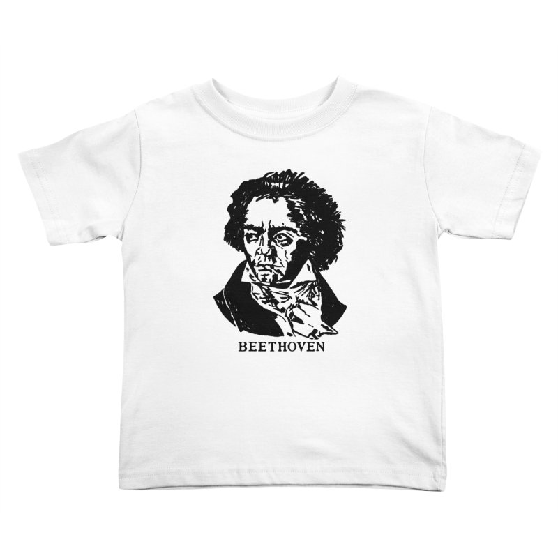 Beethoven Kids Toddler T-Shirt by Kate Gabrielle's Threadless Shop