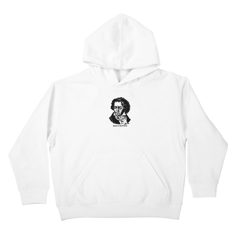 Beethoven Kids Pullover Hoody by Kate Gabrielle's Threadless Shop