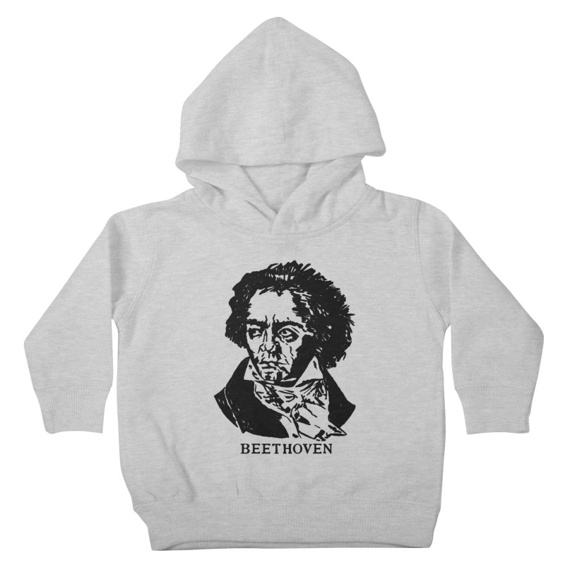 Beethoven Kids Toddler Pullover Hoody by Kate Gabrielle's Threadless Shop