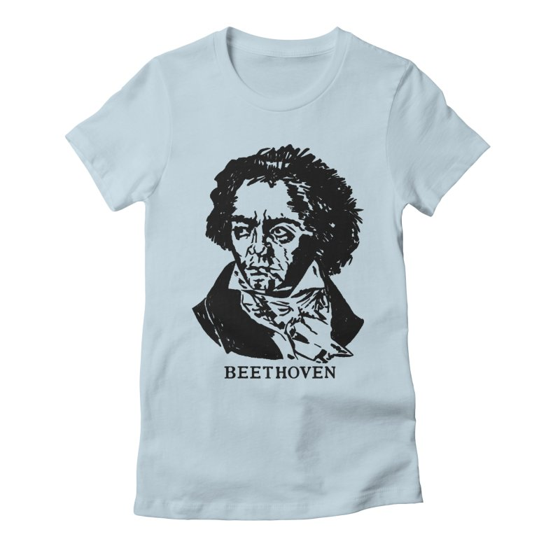 Beethoven Women's T-Shirt by Kate Gabrielle's Threadless Shop