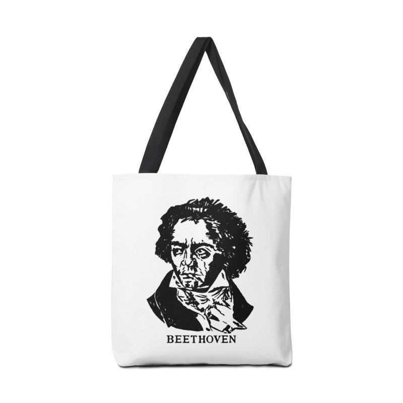 Beethoven Accessories Tote Bag Bag by Kate Gabrielle's Threadless Shop