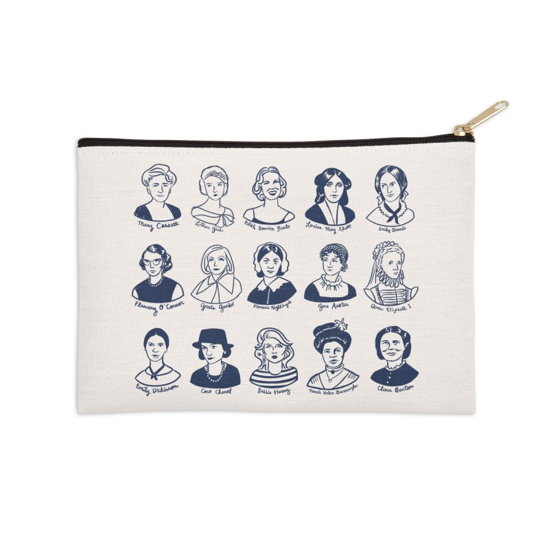 All the single ladies Accessories Zip Pouch by Kate Gabrielle's Threadless Shop