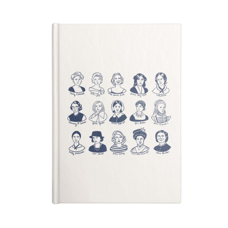 All the single ladies Accessories Lined Journal Notebook by Kate Gabrielle's Threadless Shop