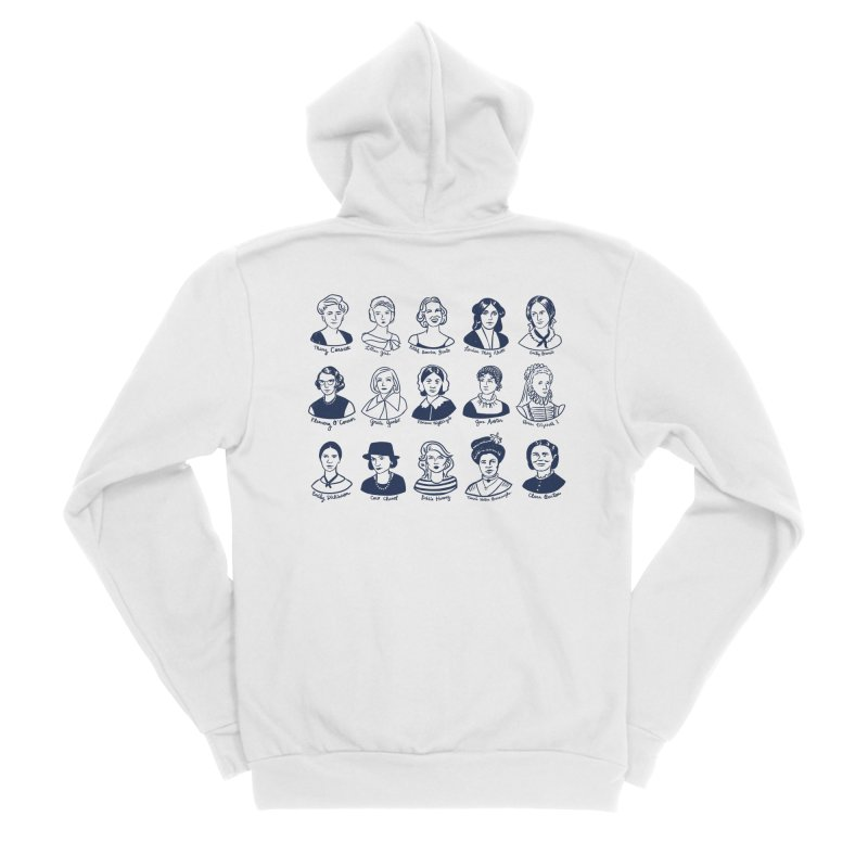 All the single ladies Women's Sponge Fleece Zip-Up Hoody by Kate Gabrielle's Threadless Shop