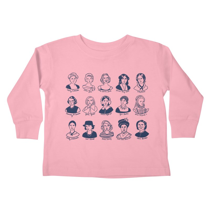 All the single ladies Kids Toddler Longsleeve T-Shirt by Kate Gabrielle's Threadless Shop