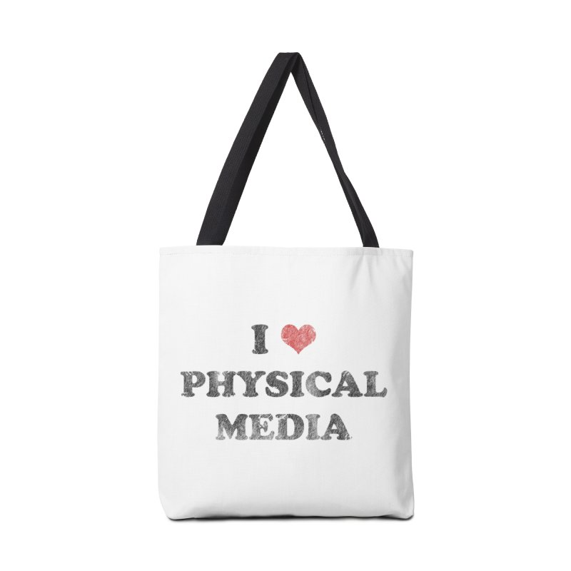 I love physical media Accessories Tote Bag Bag by Kate Gabrielle's Threadless Shop