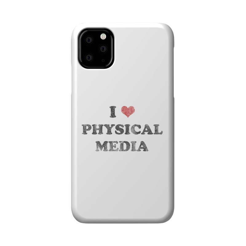 I love physical media Accessories Phone Case by Kate Gabrielle's Threadless Shop
