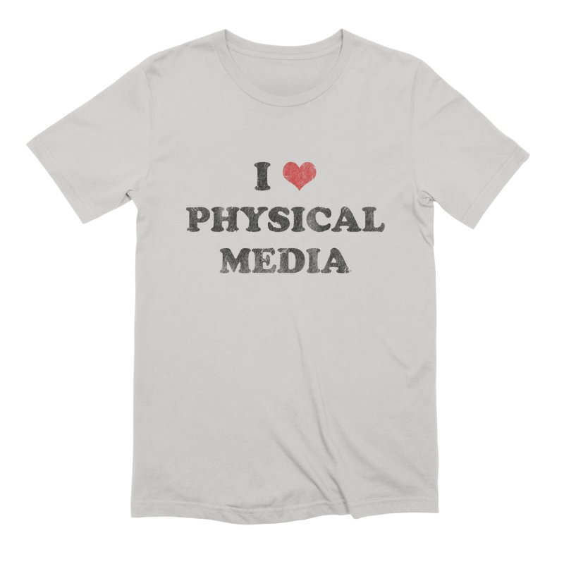 I love physical media Men's Extra Soft T-Shirt by Kate Gabrielle's Threadless Shop