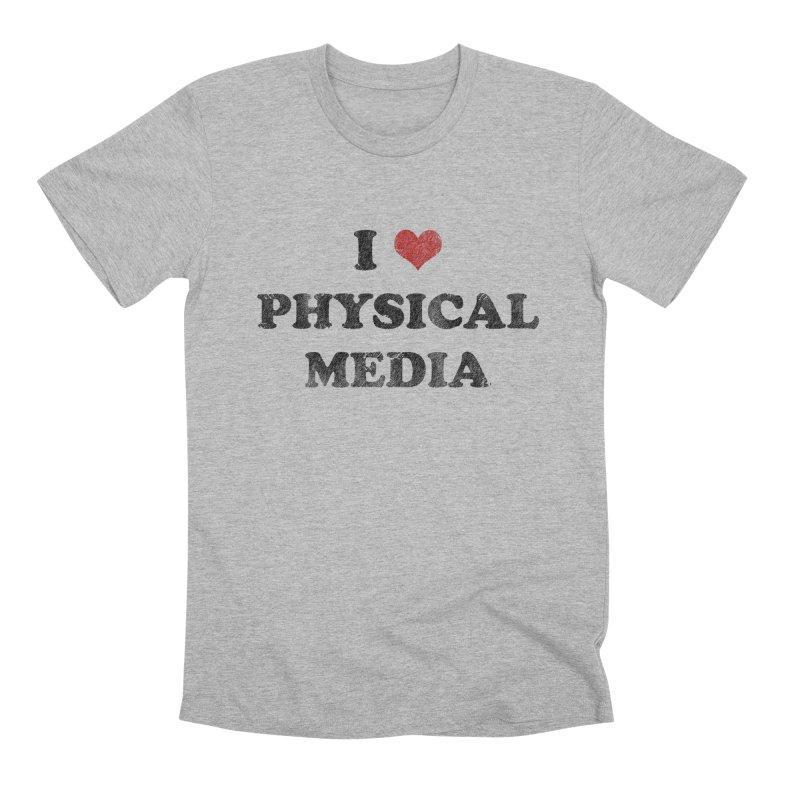 I love physical media Men's Premium T-Shirt by Kate Gabrielle's Threadless Shop