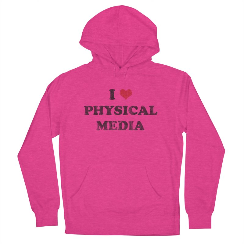 I love physical media Women's French Terry Pullover Hoody by Kate Gabrielle's Threadless Shop