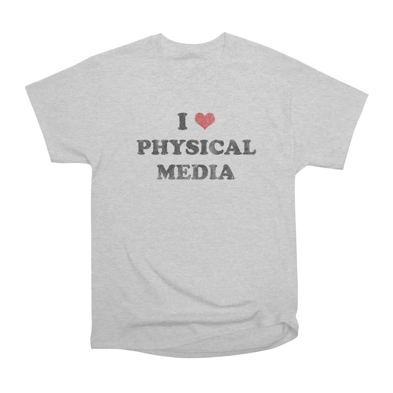 I love physical media Women's Heavyweight Unisex T-Shirt by Kate Gabrielle's Threadless Shop