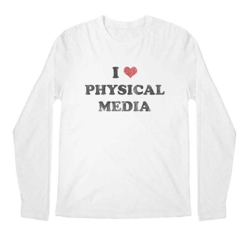 I love physical media Men's Regular Longsleeve T-Shirt by Kate Gabrielle's Threadless Shop