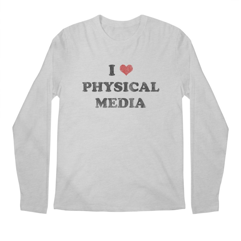 I love physical media Men's Longsleeve T-Shirt by Kate Gabrielle's Threadless Shop