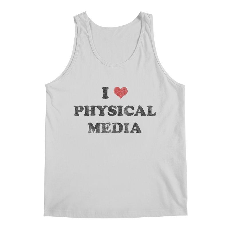 I love physical media Men's Regular Tank by Kate Gabrielle's Threadless Shop