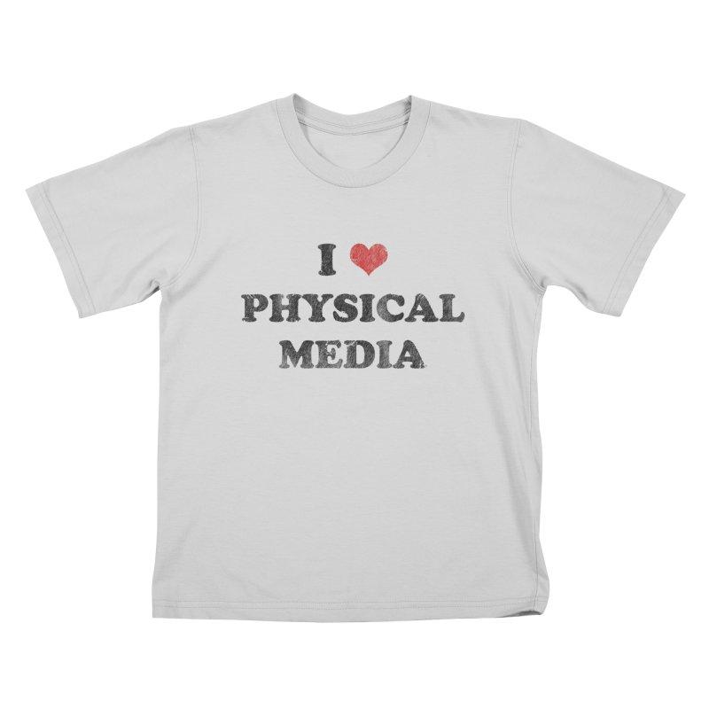 I love physical media Kids T-Shirt by Kate Gabrielle's Threadless Shop