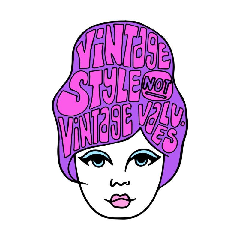 Vintage style NOT Vintage Values Women's Sweatshirt by Kate Gabrielle's Threadless Shop
