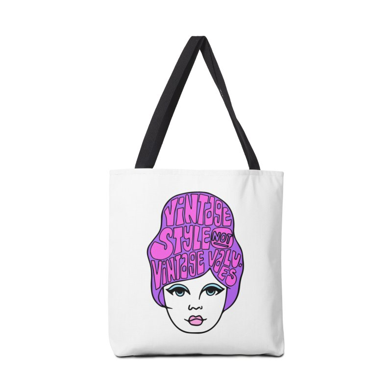 Vintage style NOT Vintage Values Accessories Tote Bag Bag by Kate Gabrielle's Threadless Shop