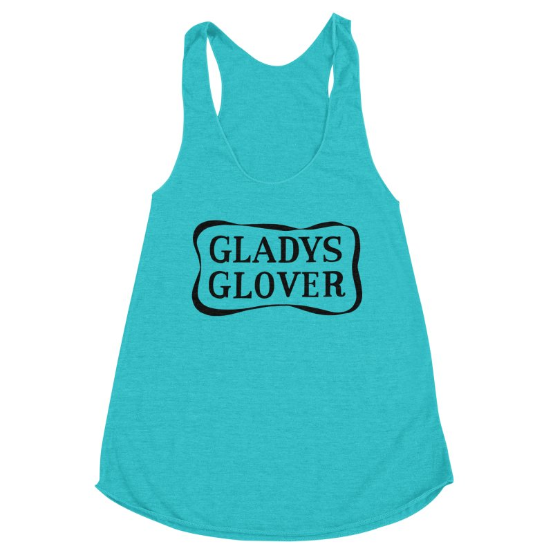 Gladys Glover Women's Racerback Triblend Tank by Kate Gabrielle's Threadless Shop
