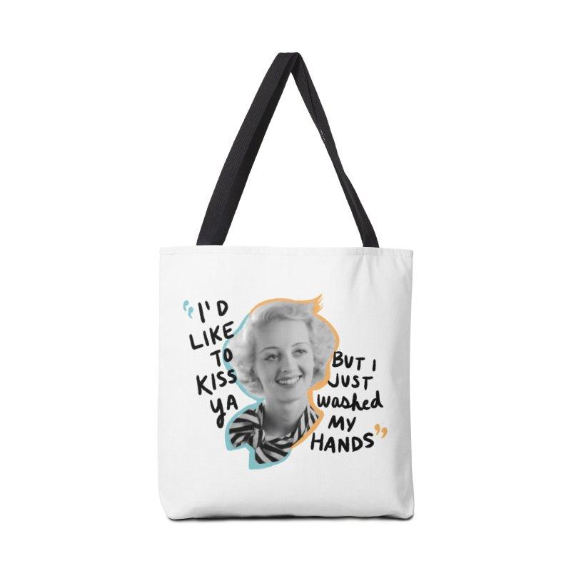 I'd like to kiss ya Accessories Tote Bag Bag by Kate Gabrielle's Threadless Shop