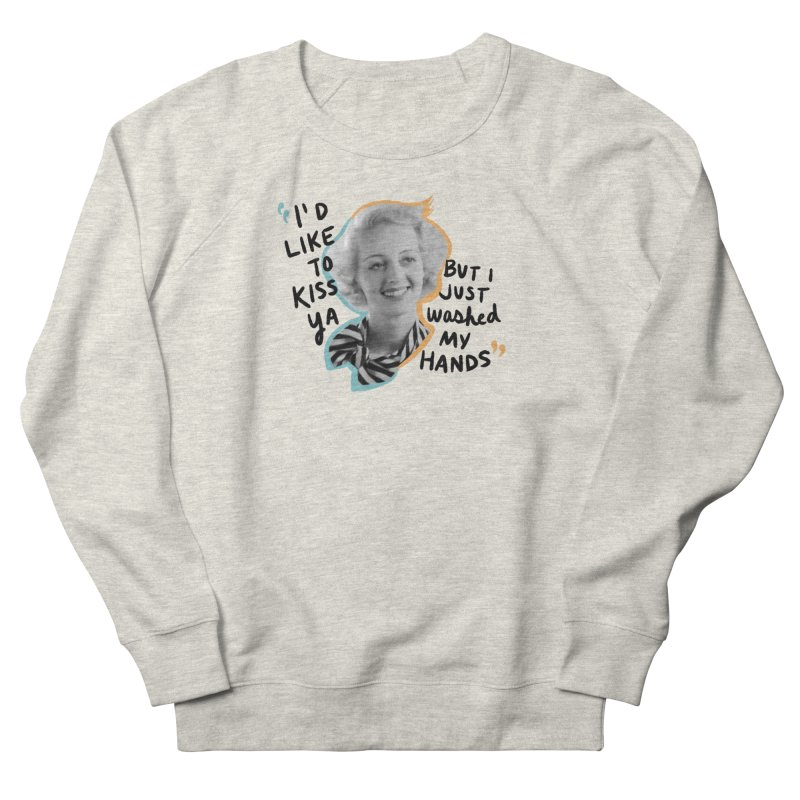 I'd like to kiss ya Men's French Terry Sweatshirt by Kate Gabrielle's Threadless Shop
