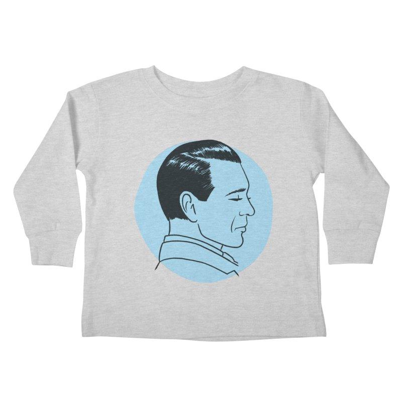 Gary Cooper Kids Toddler Longsleeve T-Shirt by Kate Gabrielle's Threadless Shop