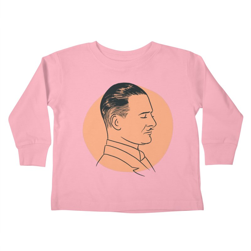 Reginald Denny Kids Toddler Longsleeve T-Shirt by Kate Gabrielle's Threadless Shop