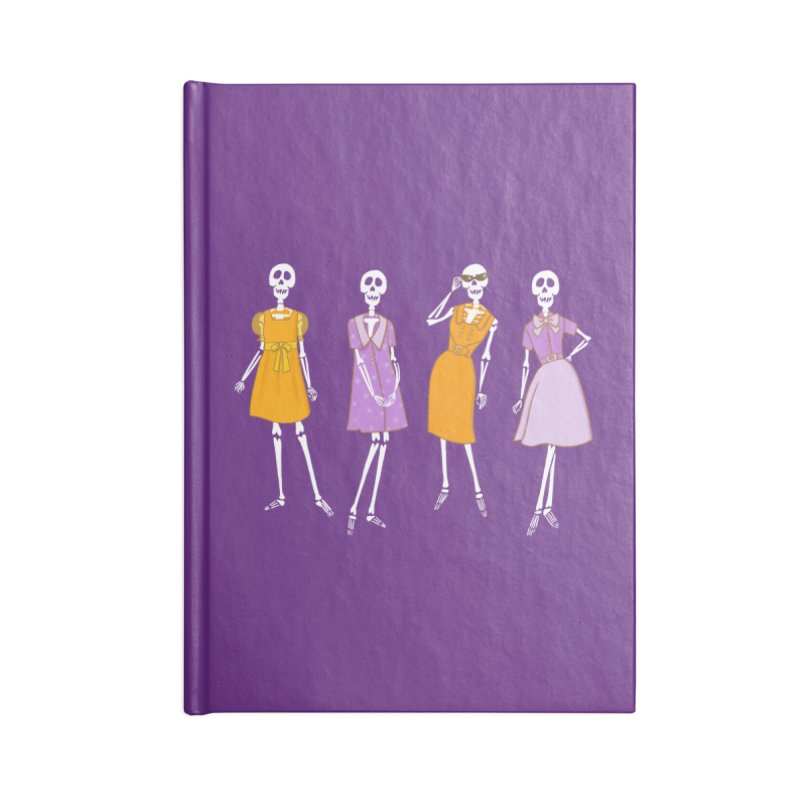A Very Fashionable Halloween Accessories Notebook by Kate Gabrielle's Threadless Shop