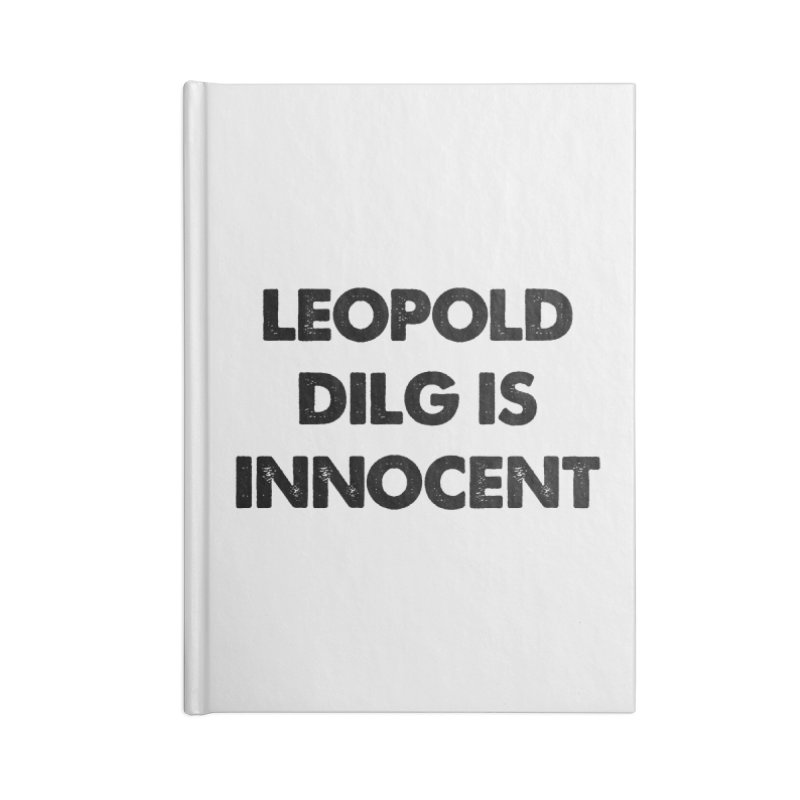 Oh, Leopold! Accessories Notebook by Kate Gabrielle's Threadless Shop