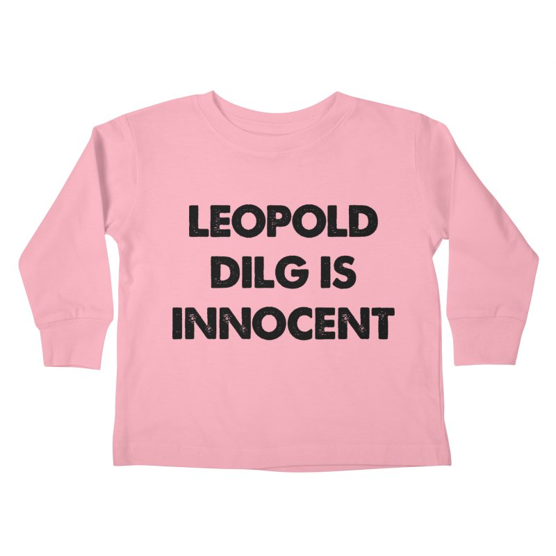 Oh, Leopold! Kids Toddler Longsleeve T-Shirt by Kate Gabrielle's Threadless Shop