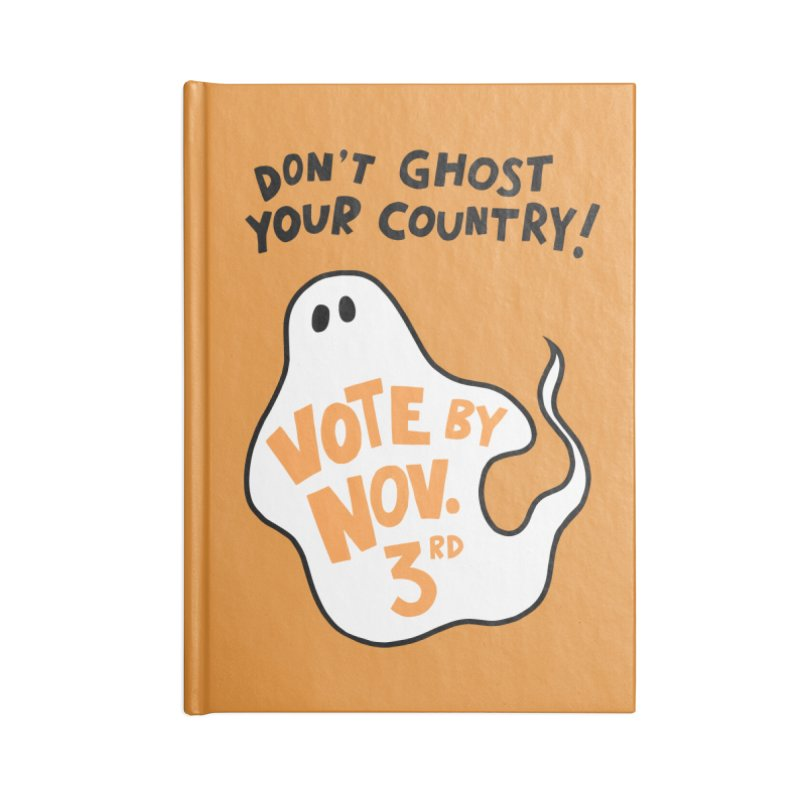 Don't Ghost Your Country Accessories Notebook by Kate Gabrielle's Threadless Shop