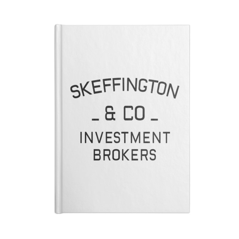 Skeffington & Co Accessories Notebook by Kate Gabrielle's Threadless Shop