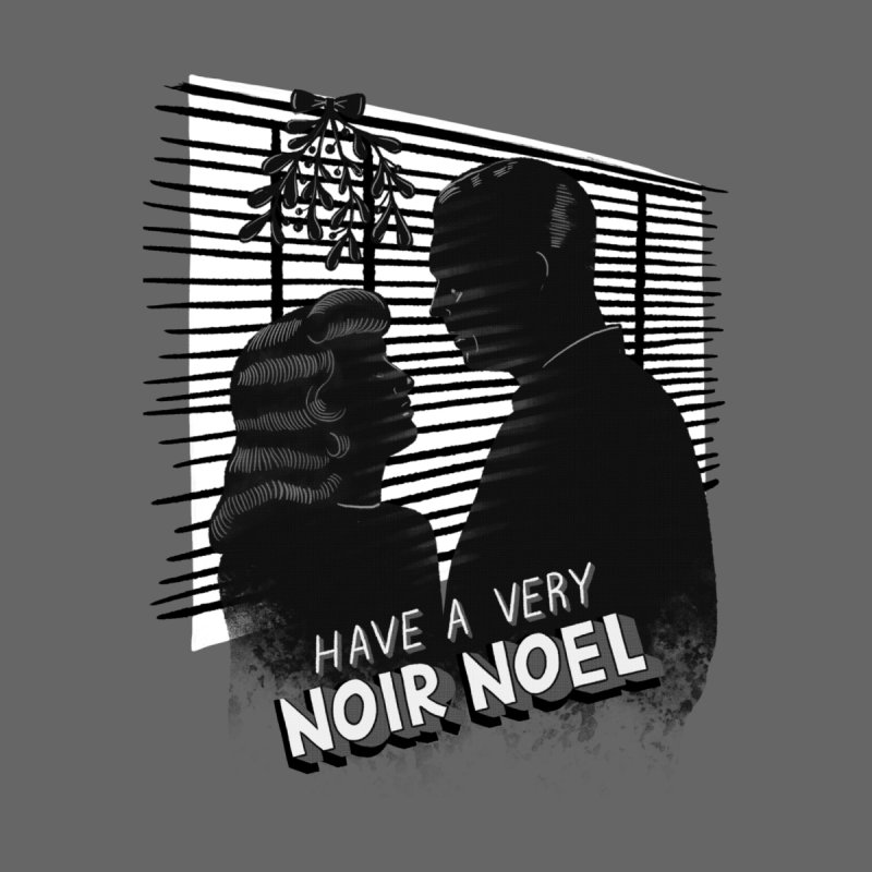 Noir Noel Men's T-Shirt by Kate Gabrielle's Threadless Shop