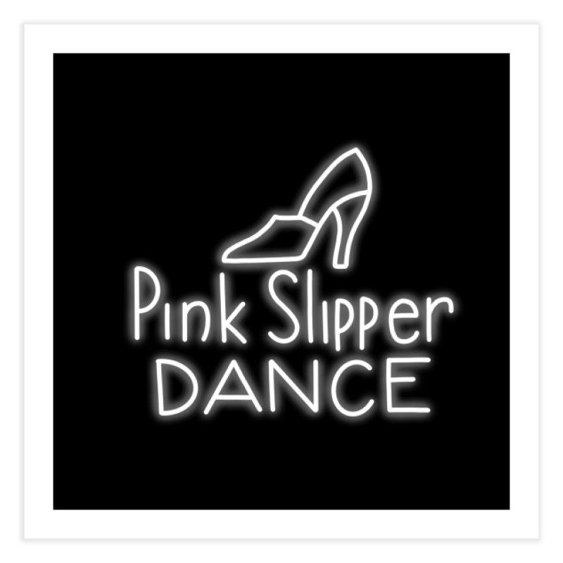 Pink Slipper Dance Bachelor Mother dance hall Home Fine Art Print by Kate Gabrielle's Threadless Shop
