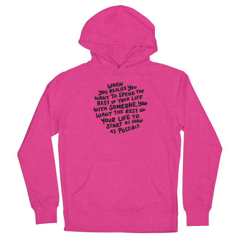 When you realize Women's Pullover Hoody by Kate Gabrielle's Threadless Shop