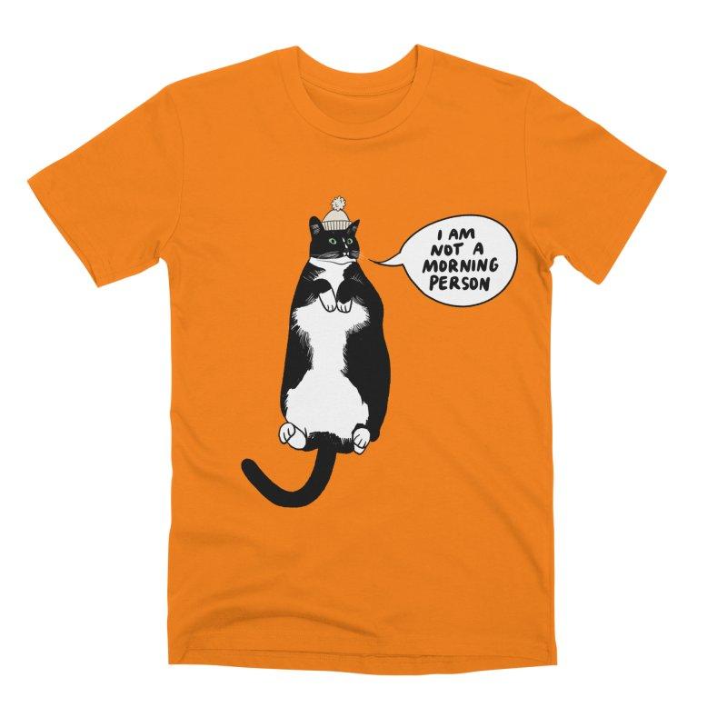Not a morning person Men's T-Shirt by Kate Gabrielle's Threadless Shop