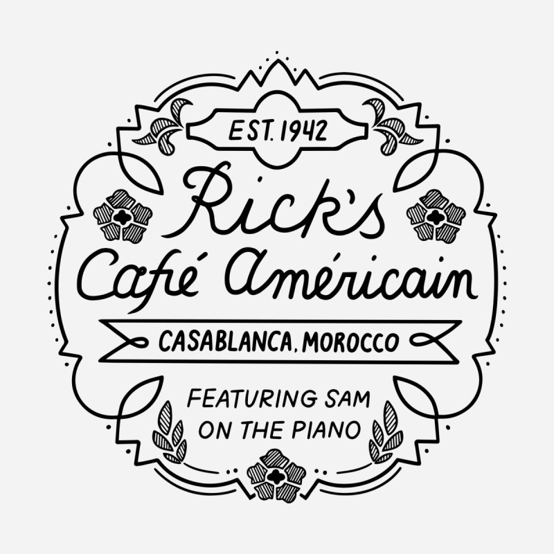 Rick's Cafe Kids T-Shirt by Kate Gabrielle's Threadless Shop