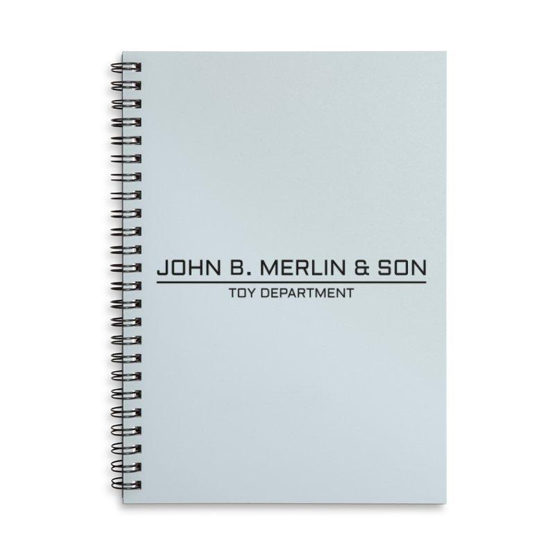 John B. Merlin & Son Accessories Notebook by Kate Gabrielle's Threadless Shop