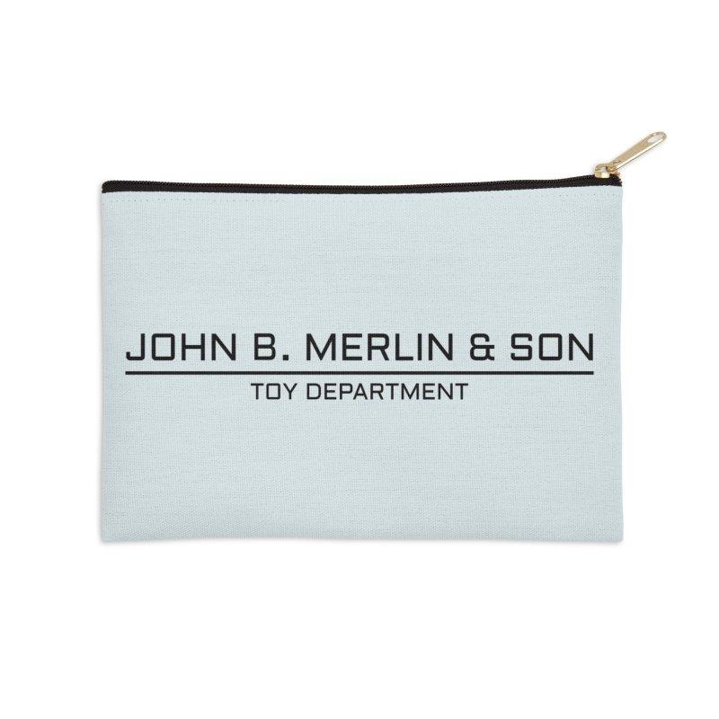 John B. Merlin & Son Accessories Zip Pouch by Kate Gabrielle's Threadless Shop