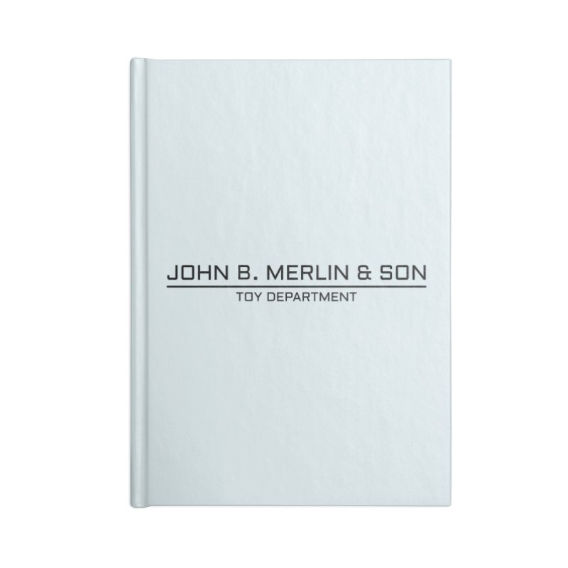 John B. Merlin & Son Accessories Notebook by Kate Gabrielle's Threadless Shop