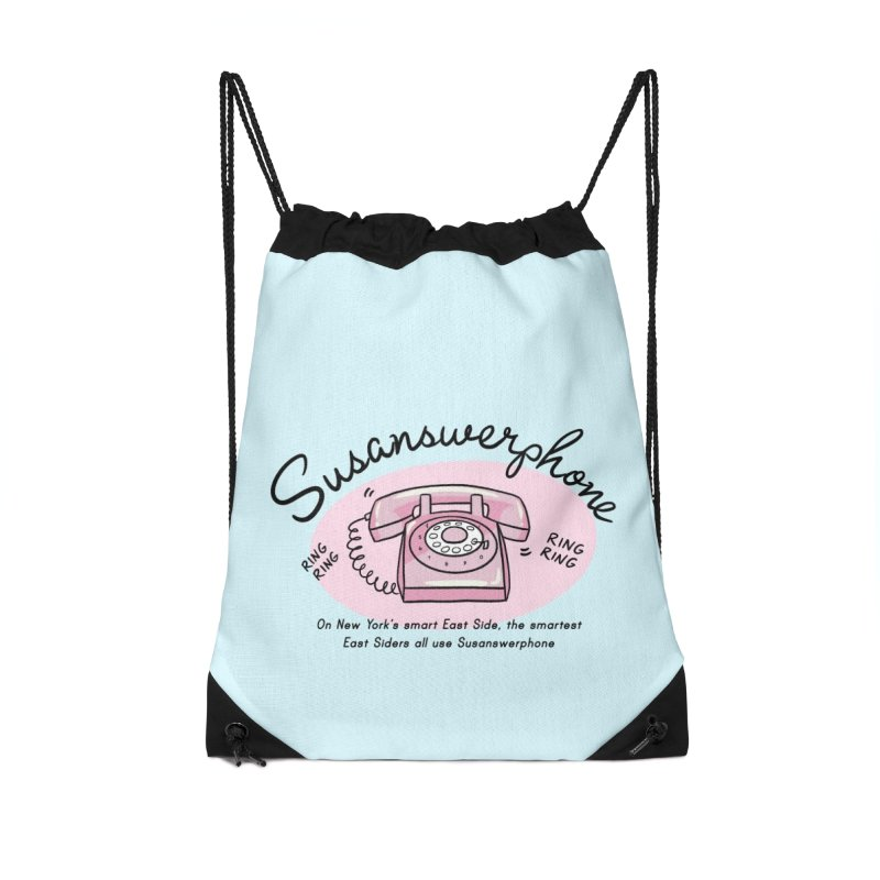 Susanswerphone Accessories Bag by Kate Gabrielle's Threadless Shop